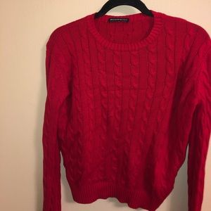 Red Brandy Melville sweater